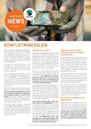 Fairtrade News - Konfliktmineralien