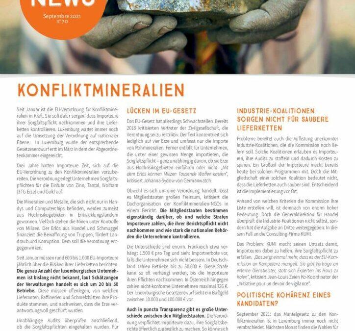 Fairtrade News – Konfliktmineralien