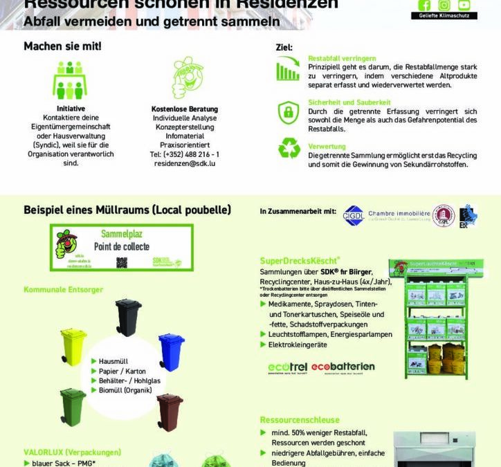 SDK – Ressourcen schonen in Residenzen