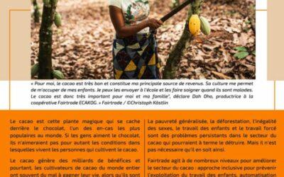 Fairtrade – Choisir le chocolat du commerce équitable fait la différence